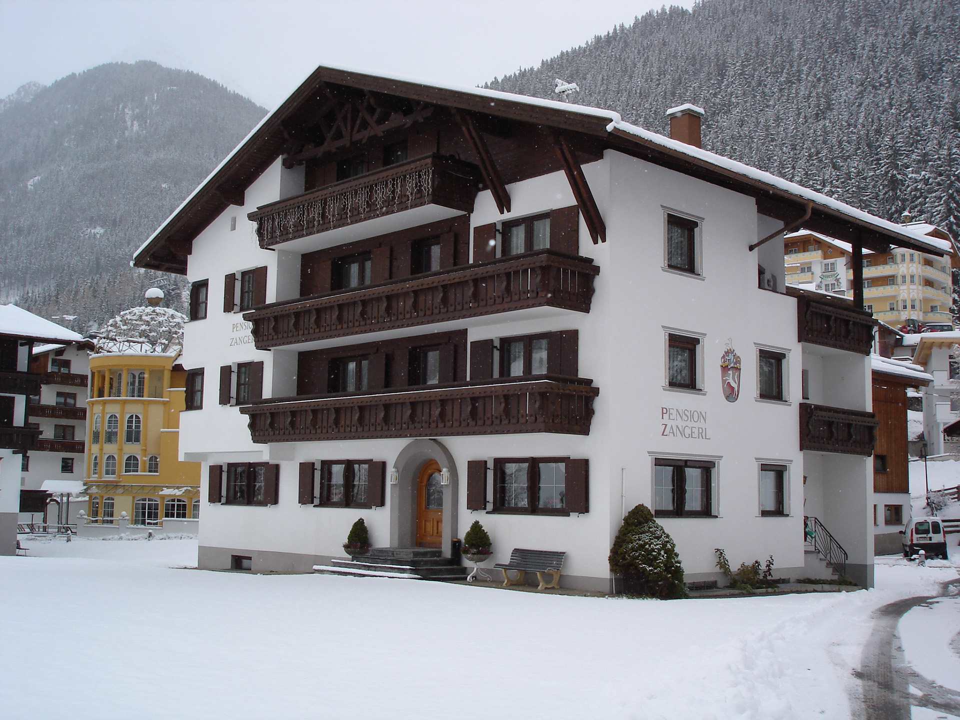Pension Zangerl Ischgl